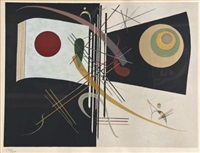 two, etc by wassily kandinsky