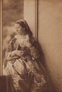 liban. femme de beyrouth by henri sauvaire
