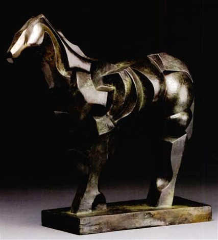 cheval by raymond duchamp villon