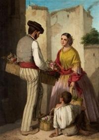 vendedor de flores by manuel cabral aguado bejarano