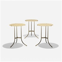 occasional tables (set of 3) by cedric hartman
