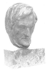 cabeza de wagner by julio antonio