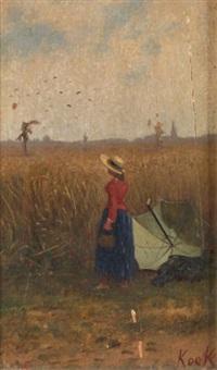 la pose dans les blés by elisa kock