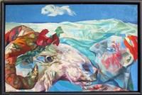 lamb and shepherd by josef jackerson