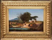 laveuses de linge dans la campagne romaine by adolphe-paul-emile balfourier