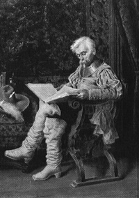a cavalier reading by torello ancillotti