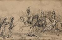 la charge des cuirassiers by nicolas toussaint charlet