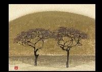 two trees by eiki tsukioka