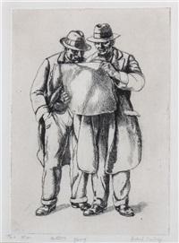 two men by isabel bishop