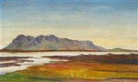 skardsfjell a landa, island by jon helgason