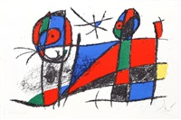 lithograph vi by joan miró