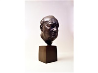 a bust of sir winston churchill when prime minister by sir william reid dick