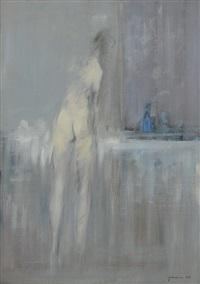 donna che si lava by giuseppe ajmone
