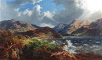 a highland loch by mcneil macleay