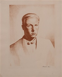 portrait of tom cleland by rockwell kent