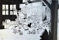 catastrophes au pays du père noel by frank le gall
