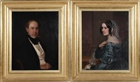 pair of portraits: mr. & mrs. henry m. crane of new york by american school (19)