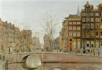 a view in amsterdam by felicien bobeldyk