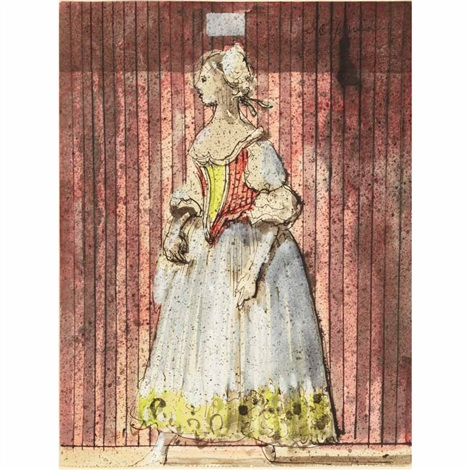 costume design for despina cosi fan futti by eugene berman
