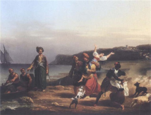the kidnap by hippolyte lecomte