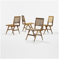 dining chairs (set of 4) by martin eisler and carlo hauner