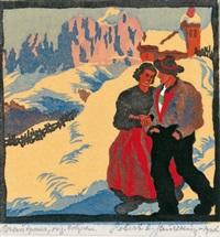 brautpaar by robert a. saurwein