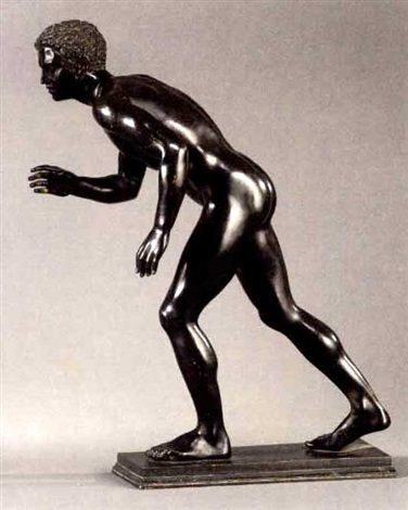 greek athlete another similar pair by sabatino de angelis