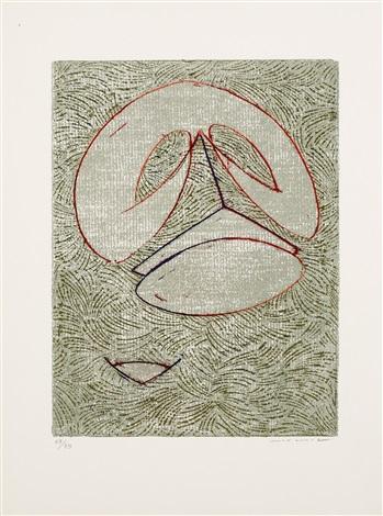 pierre hebey, festin (portfolio of 12) by max ernst