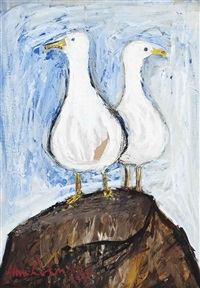 two seagulls by alan lowndes