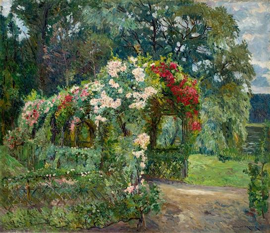 Richter Garten rosenlaube im richterschen gartenphilipp franck on artnet