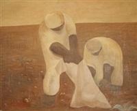 gathering potatoes by anatol gurewitsch