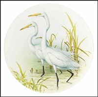two egrets by james fenwick lansdowne