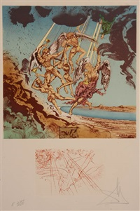 return of ulysses by salvador dalí