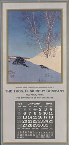 the thos d murphy company by maxfield parrish
