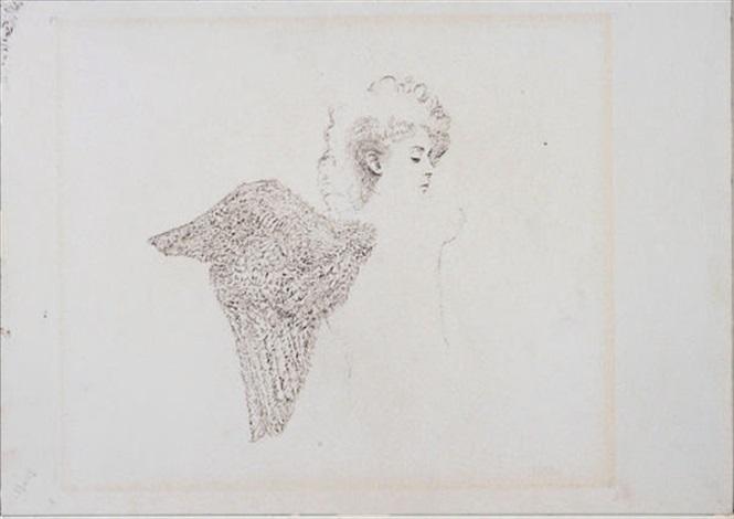 self portrait as angel for the museum of modern art series left wing by hannah wilke