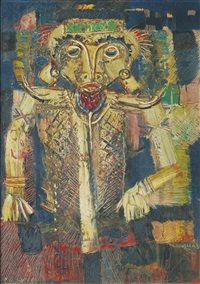 tribal dancer by abas alibasyah