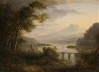 river landscape by alexander nasmyth
