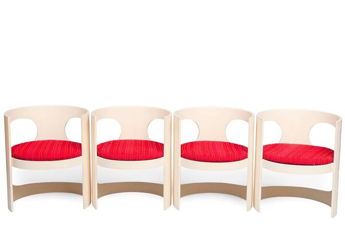 Arne Jacobsen Stoel : Pre pop chairs and table set of 5 by arne jacobsen on artnet