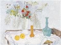 nature morte au vase de fleurs by frederick arthur jessup
