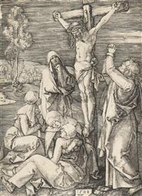 christus am kreuz by albrecht dürer