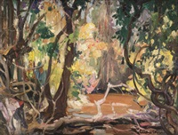 forêt tropicale by fernand allard l'olivier