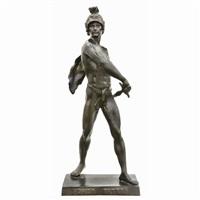 bronze sculpture honor patria by emile louis picault
