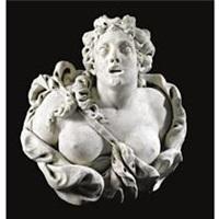 a bust of diana by ignatius van logteren
