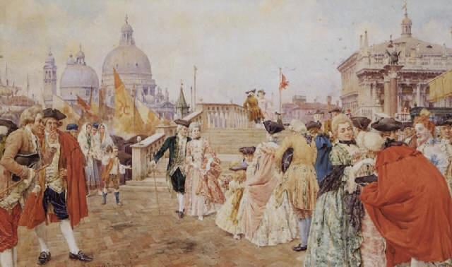 giuseppe-vizzotto-alberti-venezia-scena-di-costume-lungo-la-riva-degli-schiavoni