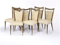 side chairs (set of 6) by mario gottardi and melchiorre bega