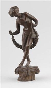 danseuse à la guirlande by charles samuel