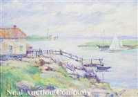 house by the shore (+ house by the coast; 2 works) by cornelia earle