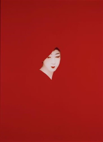 red mask (objects of desire i) by sarah charlesworth