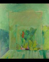 abstrakte komposition by peter tomschiczek