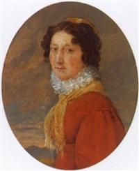 porträt von jeanne suzanne constantin by auguste aristide fernand constantin
